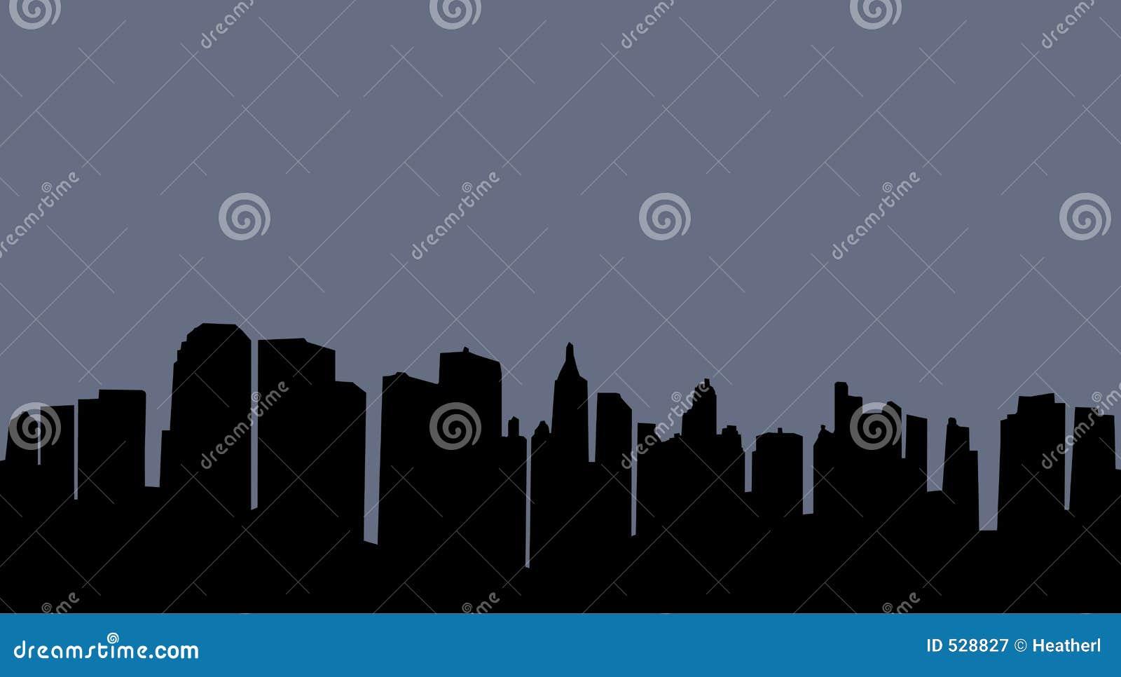 Download 城市地平线 库存例证. 插画 包括有 晚上, 艺术, 图象, 都市, 投反对票, 黑暗, 城市, 灰色, 背包 - 528827