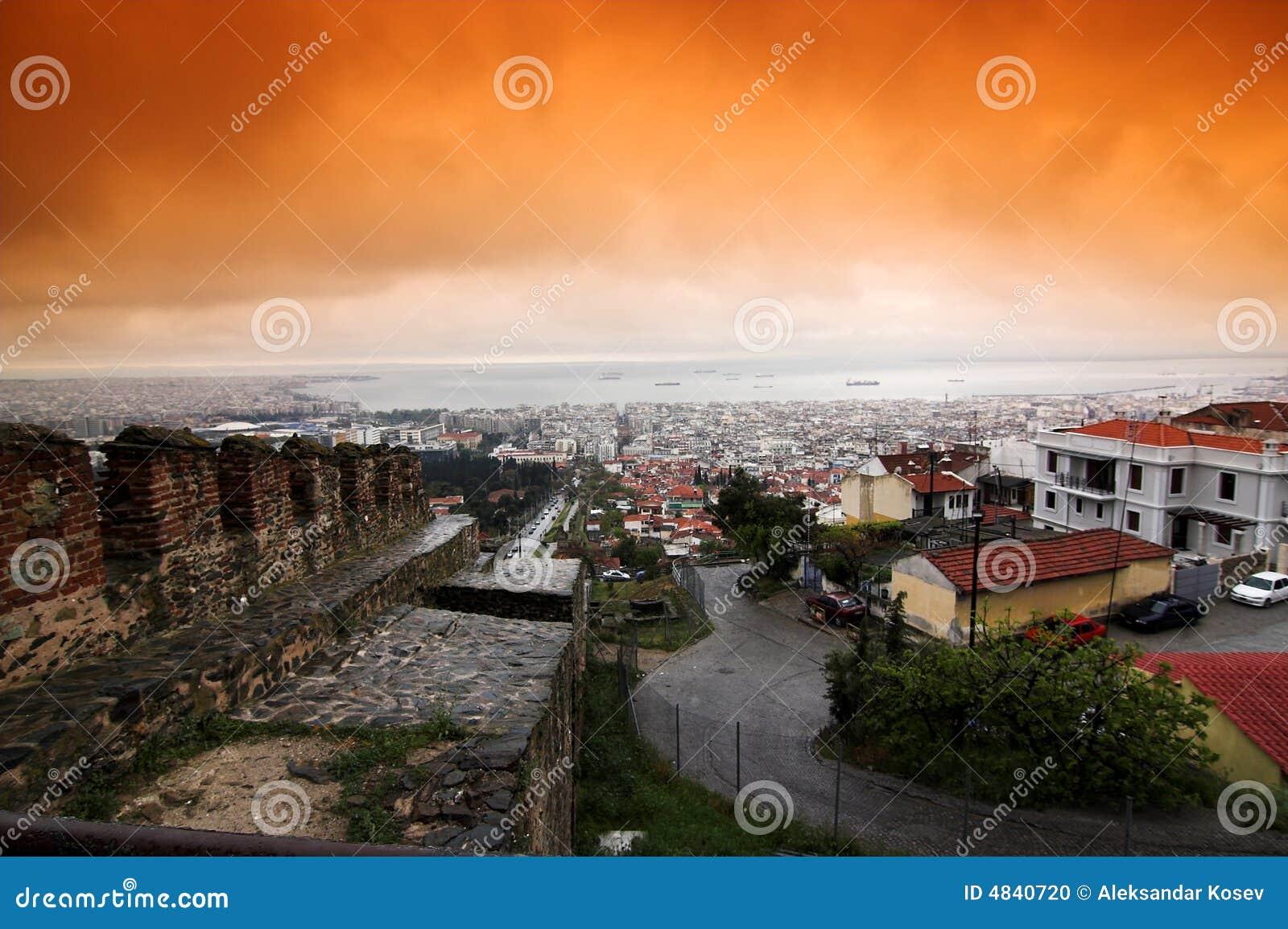 城市塞萨罗尼基