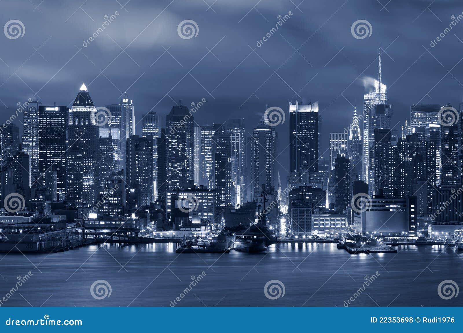 城市曼哈顿纽约