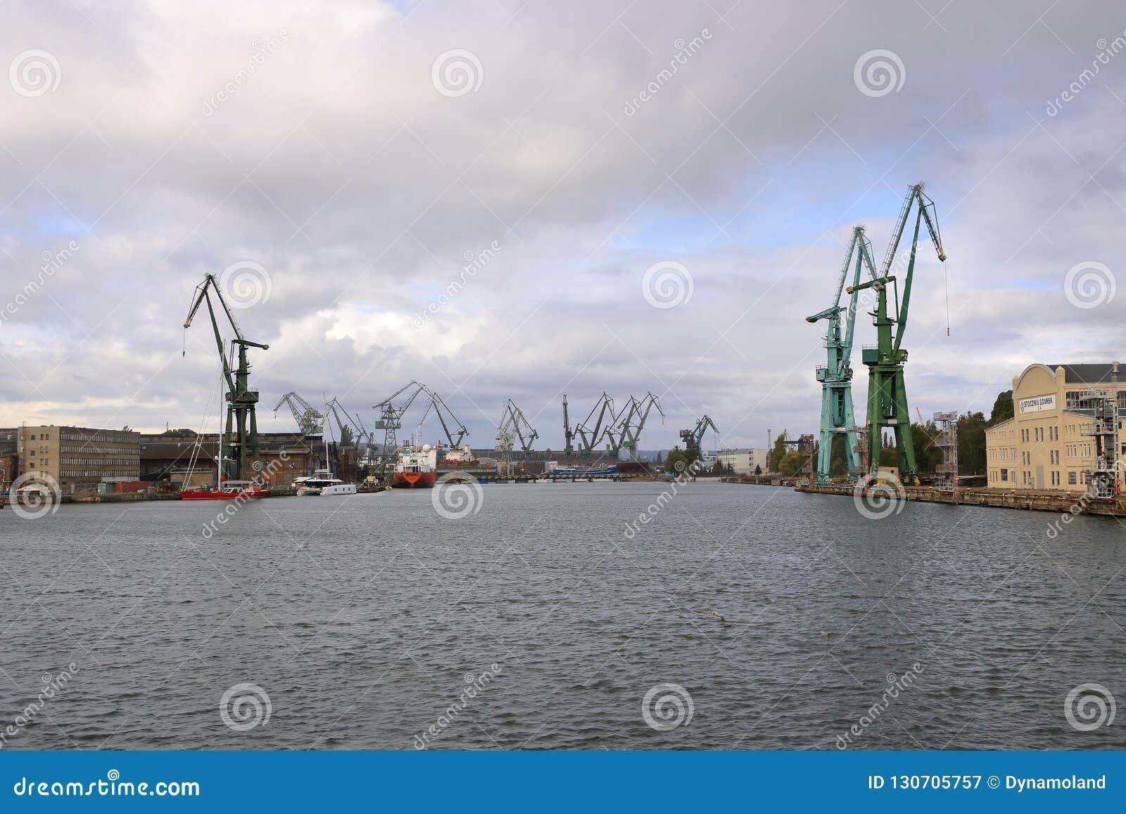 城市格但斯克,波兰的口岸