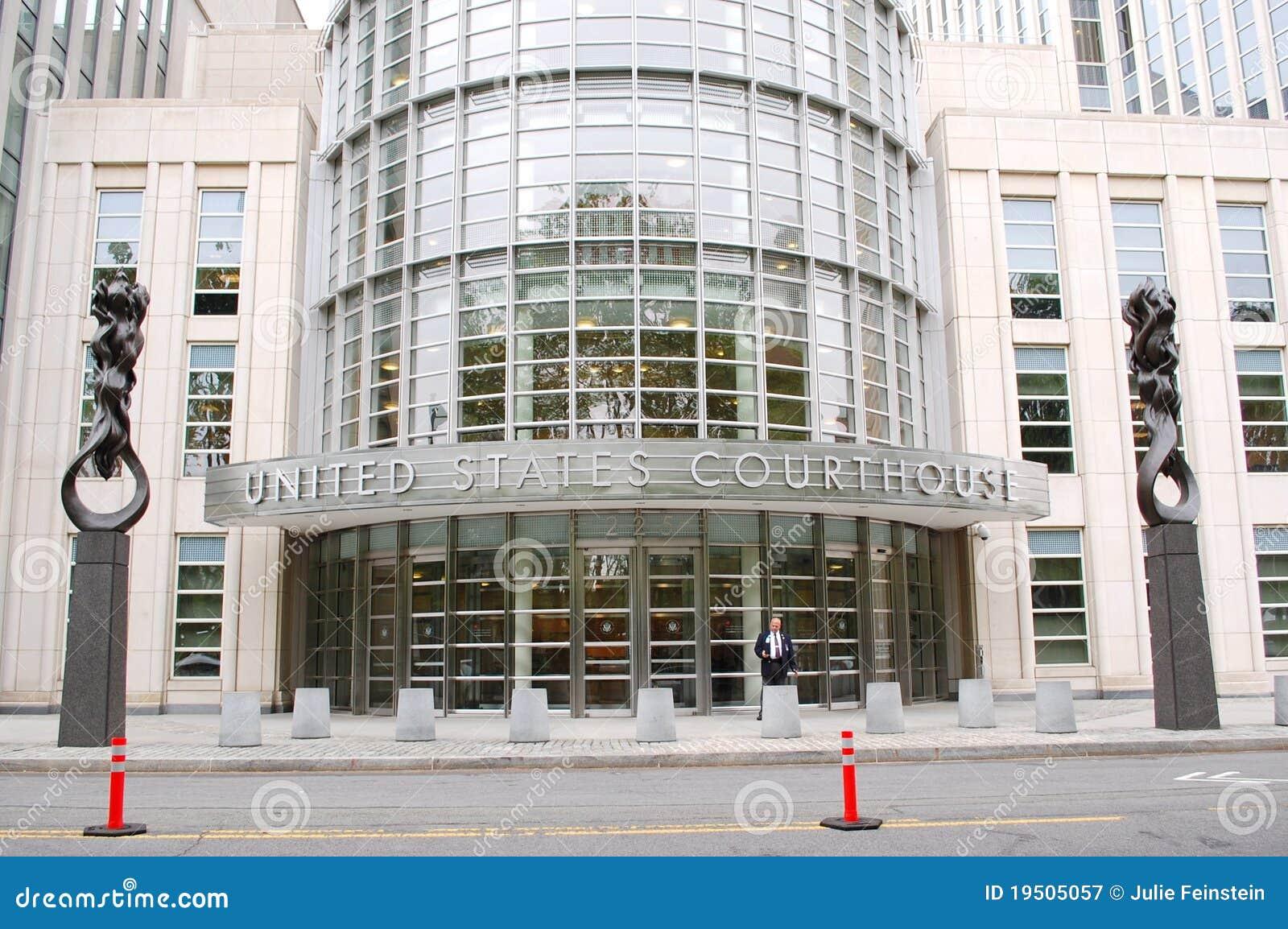 城市法院大楼新的状态团结了约克