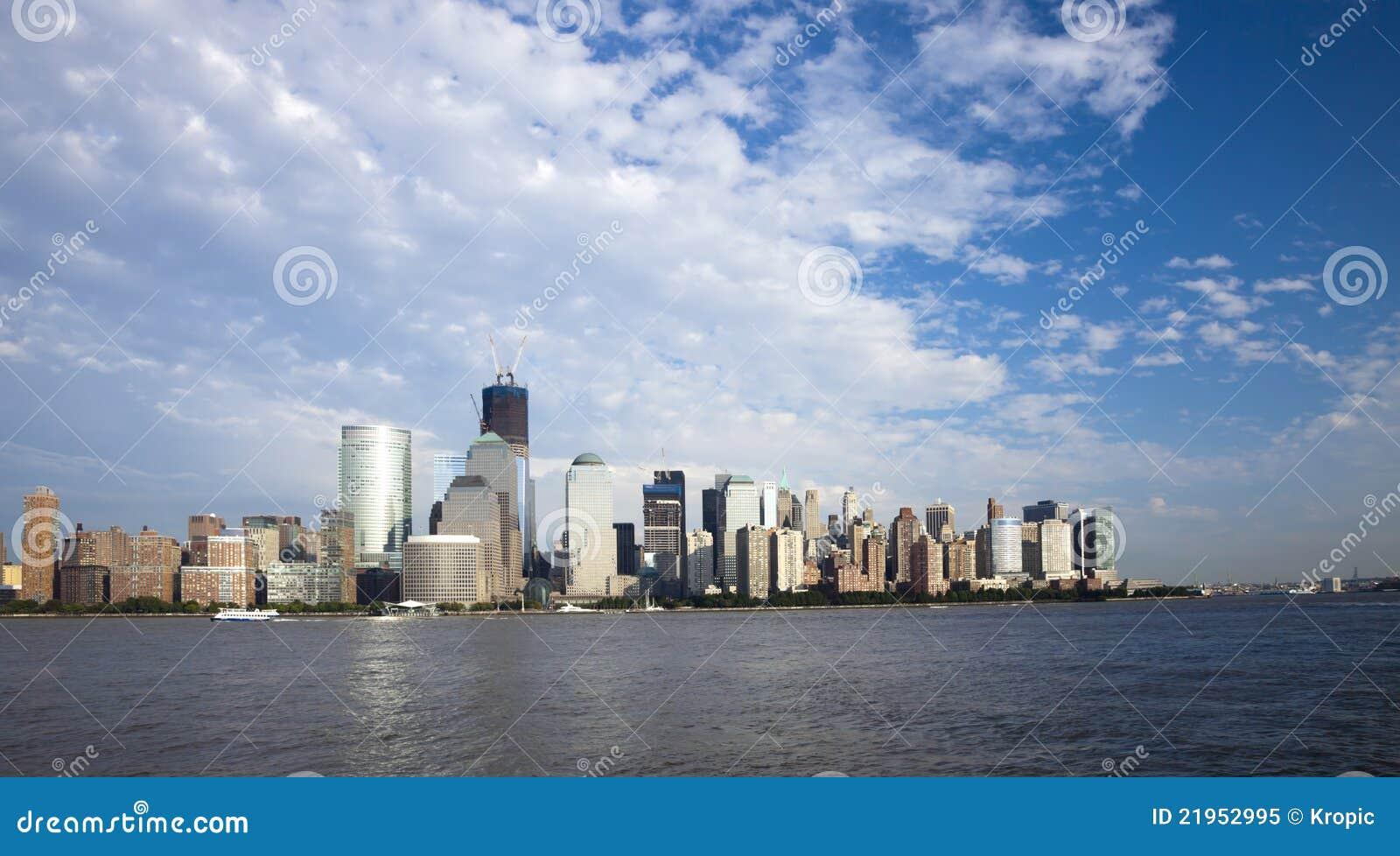 城市自由新的地平线塔w约克
