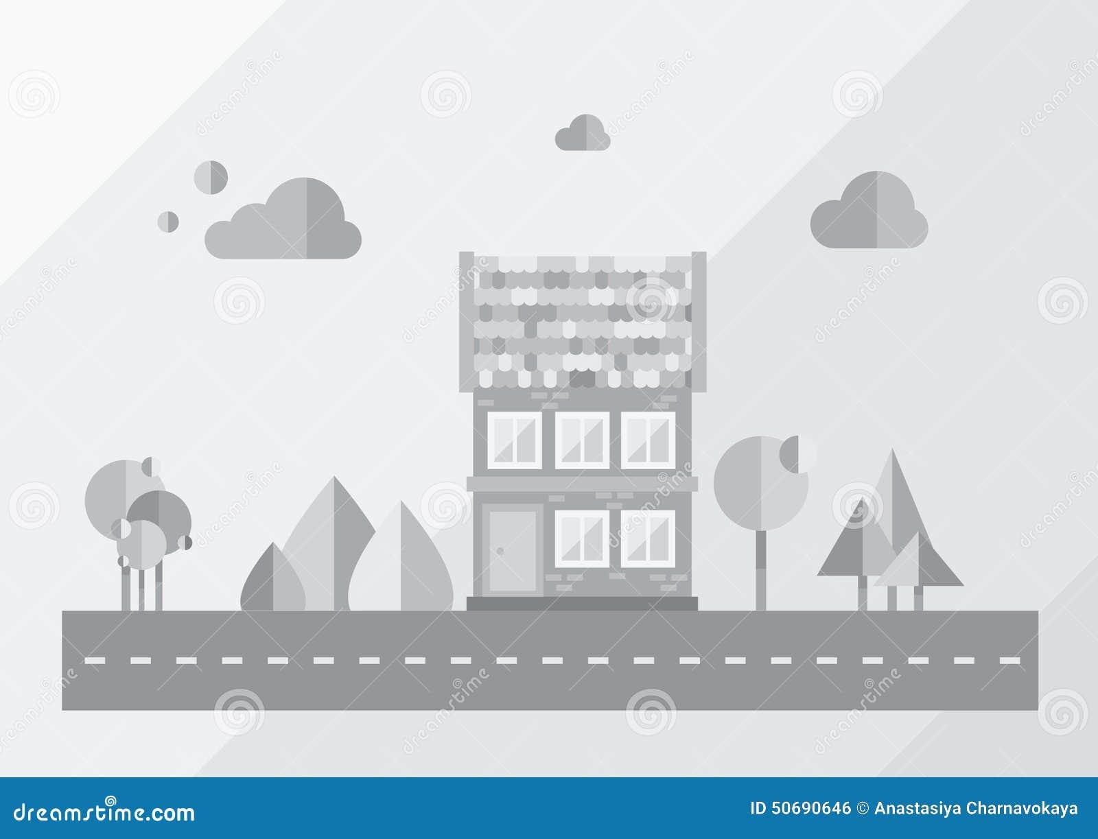 Download 城市,背景,灰色 向量例证. 插画 包括有 例证, 创造性, 要素, 装饰, 背包, 概念, 城市, 拱道 - 50690646