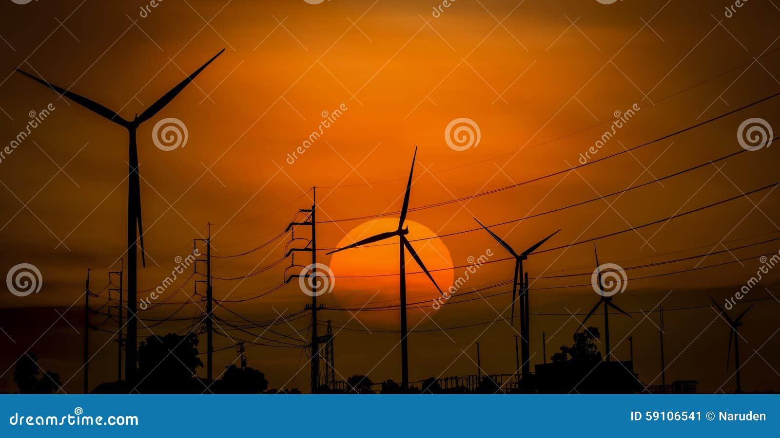 域绿色涡轮风