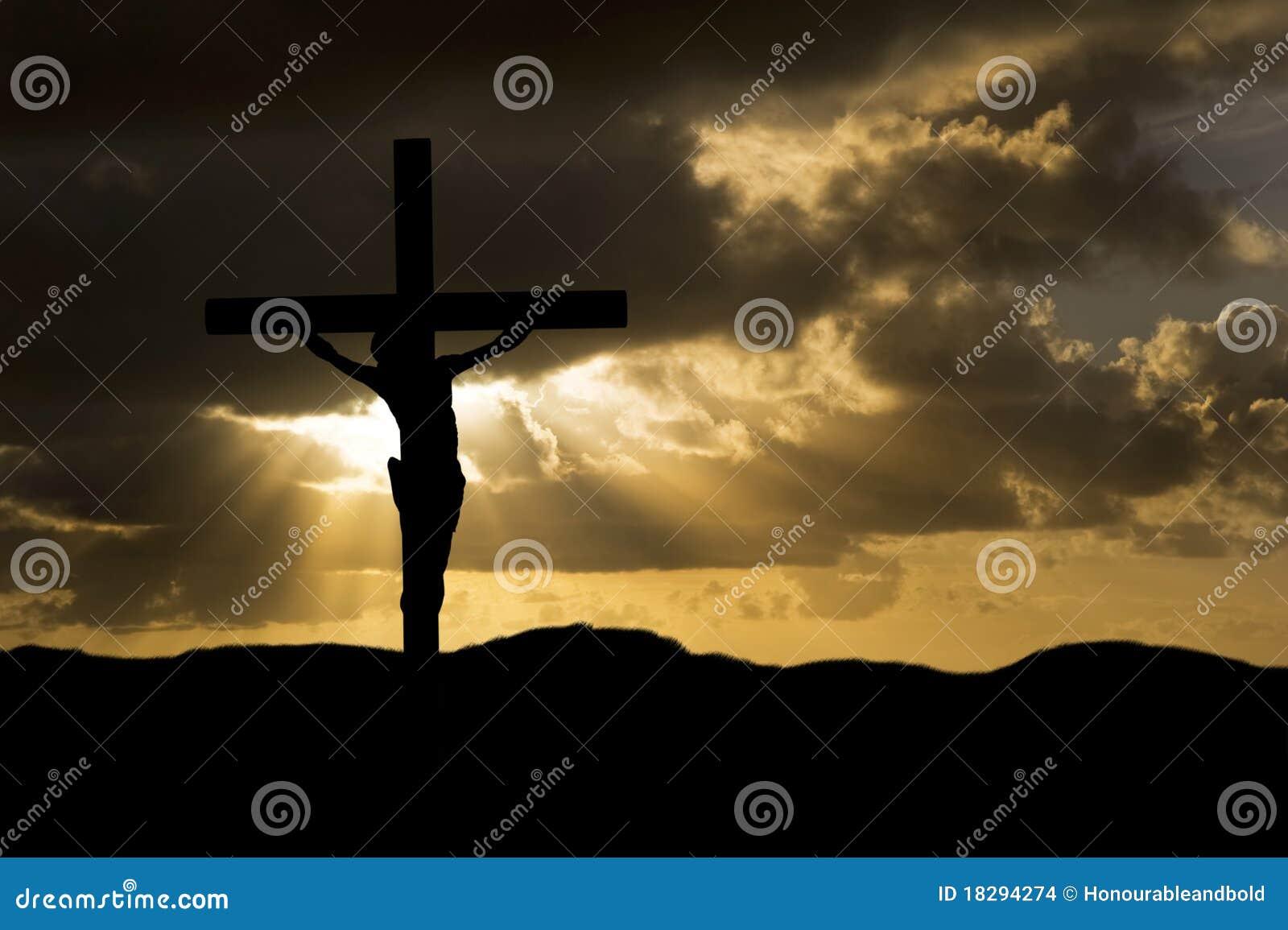 基督在十字架上钉死星期五好耶稣剪 18294274图片