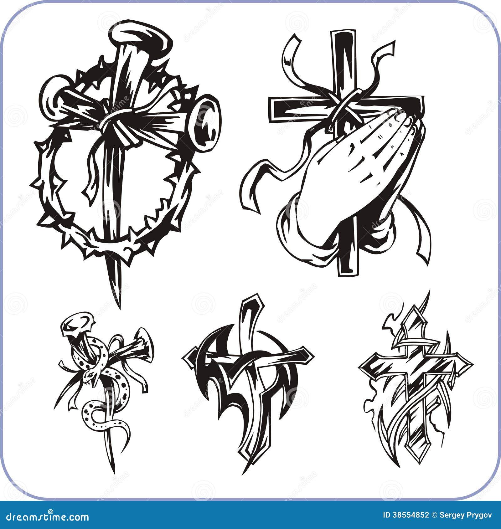 基督徒标志-传染媒介例证.图片