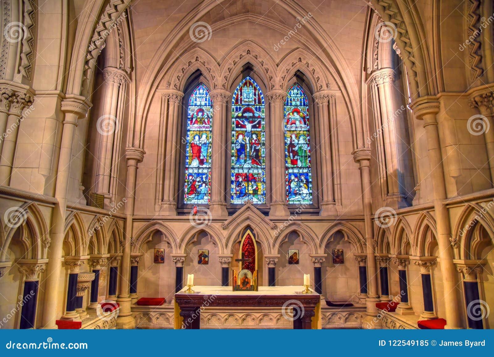 基督教会大教堂在都伯林,爱尔兰