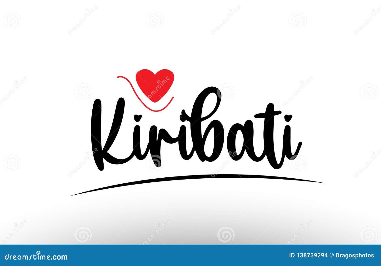 基里巴斯国家文本印刷术商标象设计