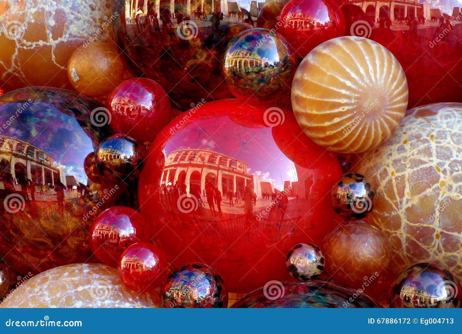 堆圣诞节球