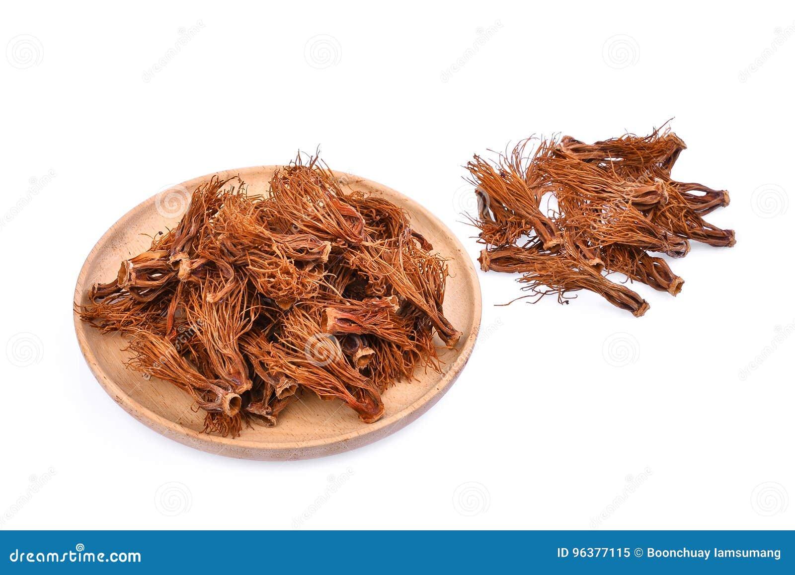 堆在木板材,亚洲草本的干木棉树木棉
