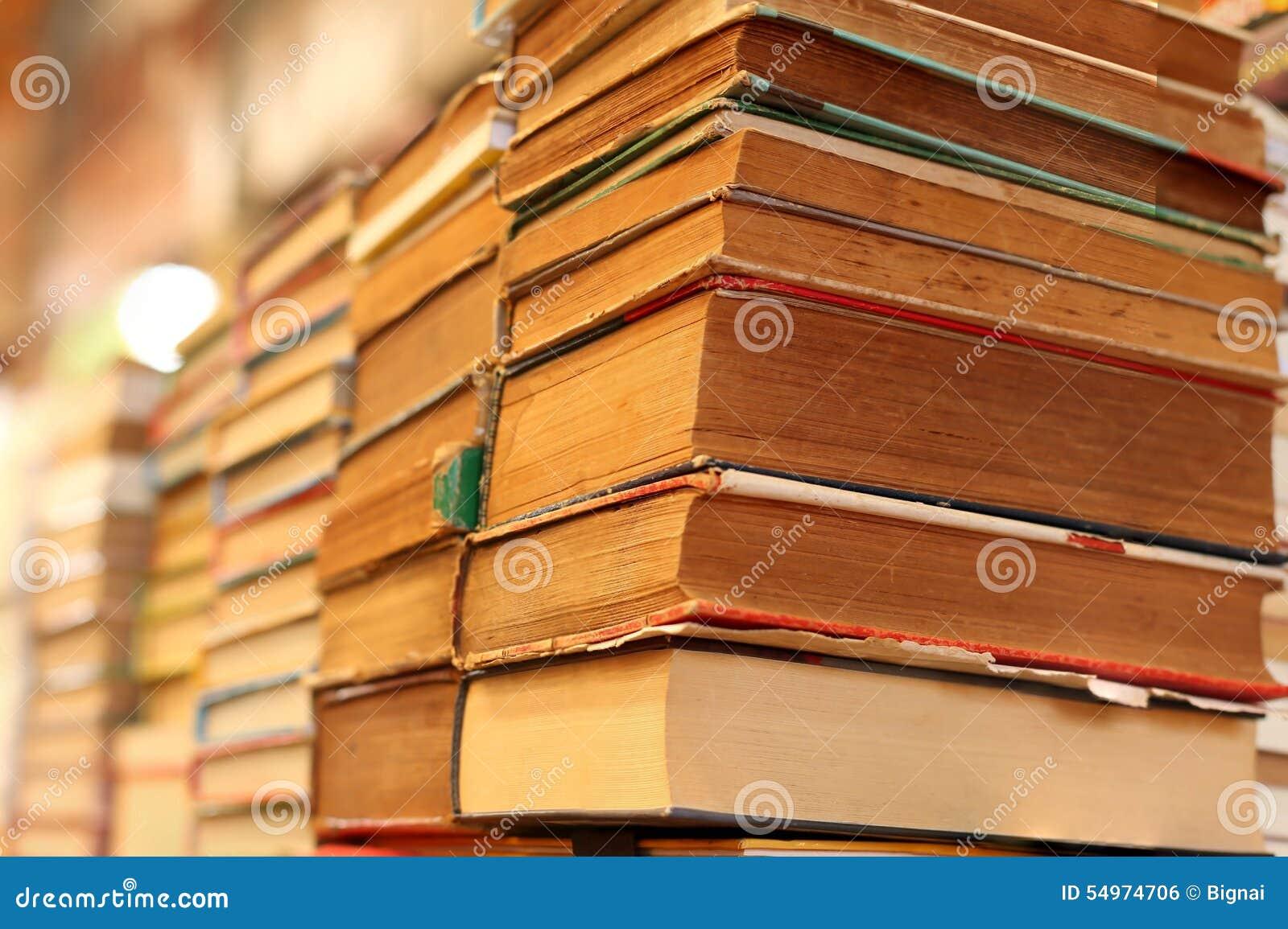 堆旧书待售