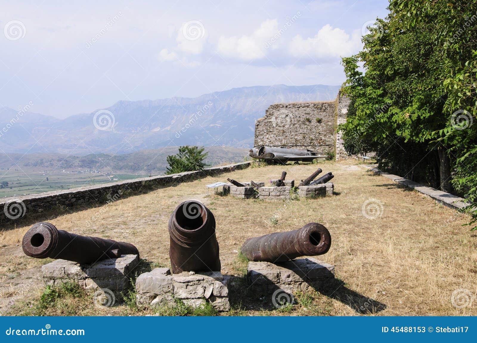 堡垒gjirokastra阿尔巴尼亚欧洲