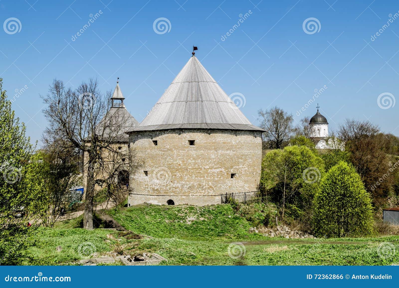 堡垒ladoga中世纪staraya 俄国