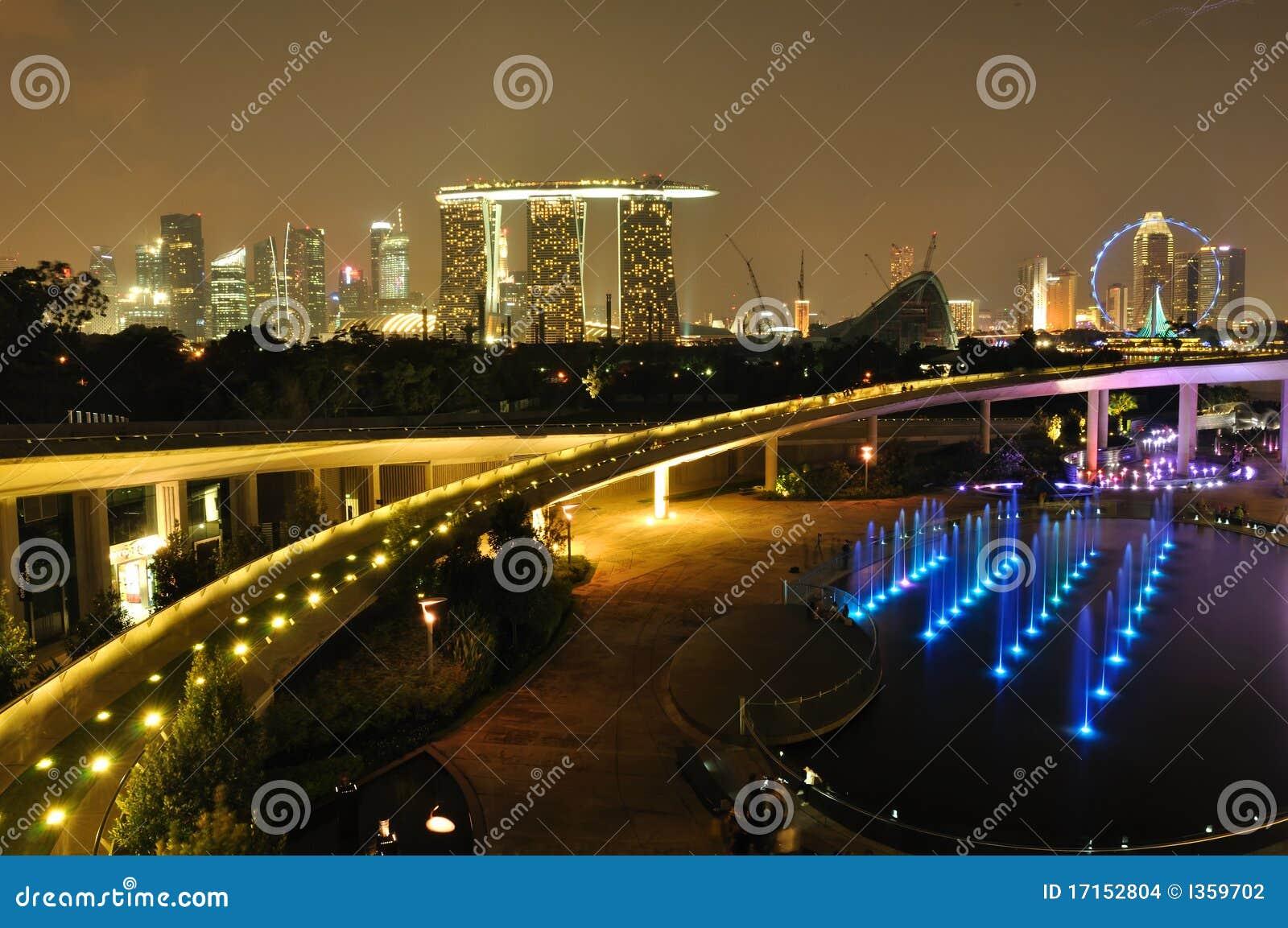 堰坝海滨广场新加坡地平线