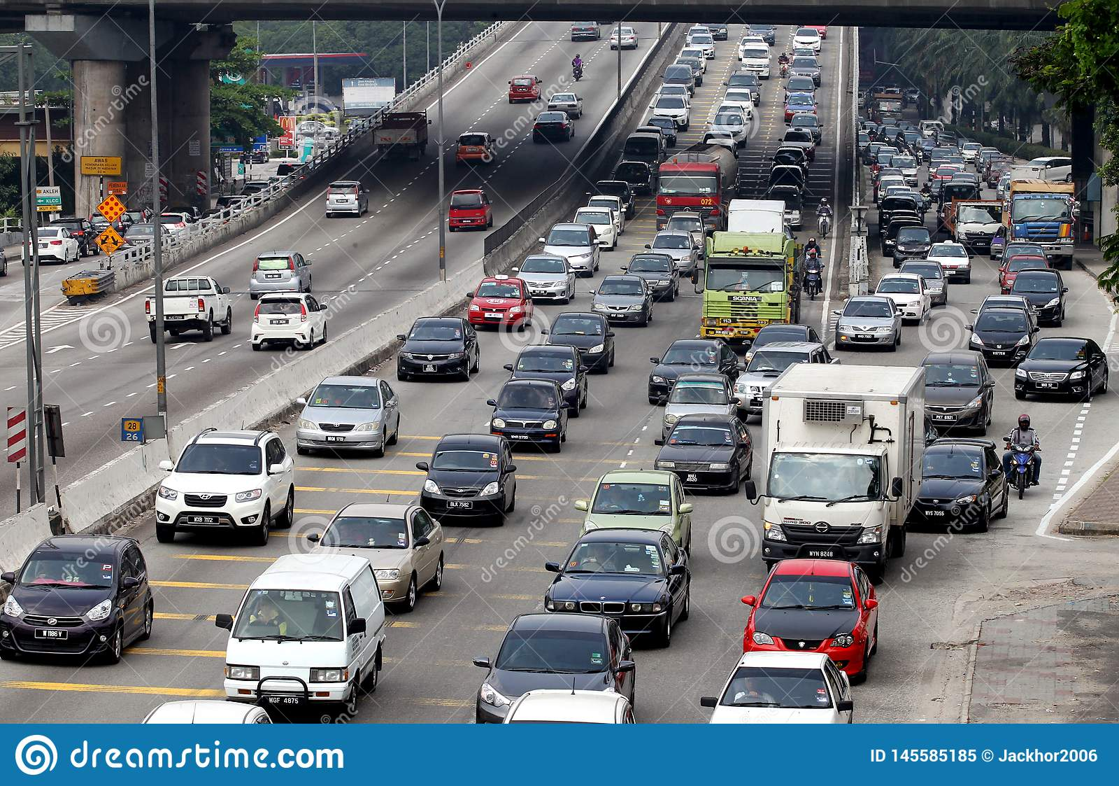 堵车在吉隆坡,马来西亚