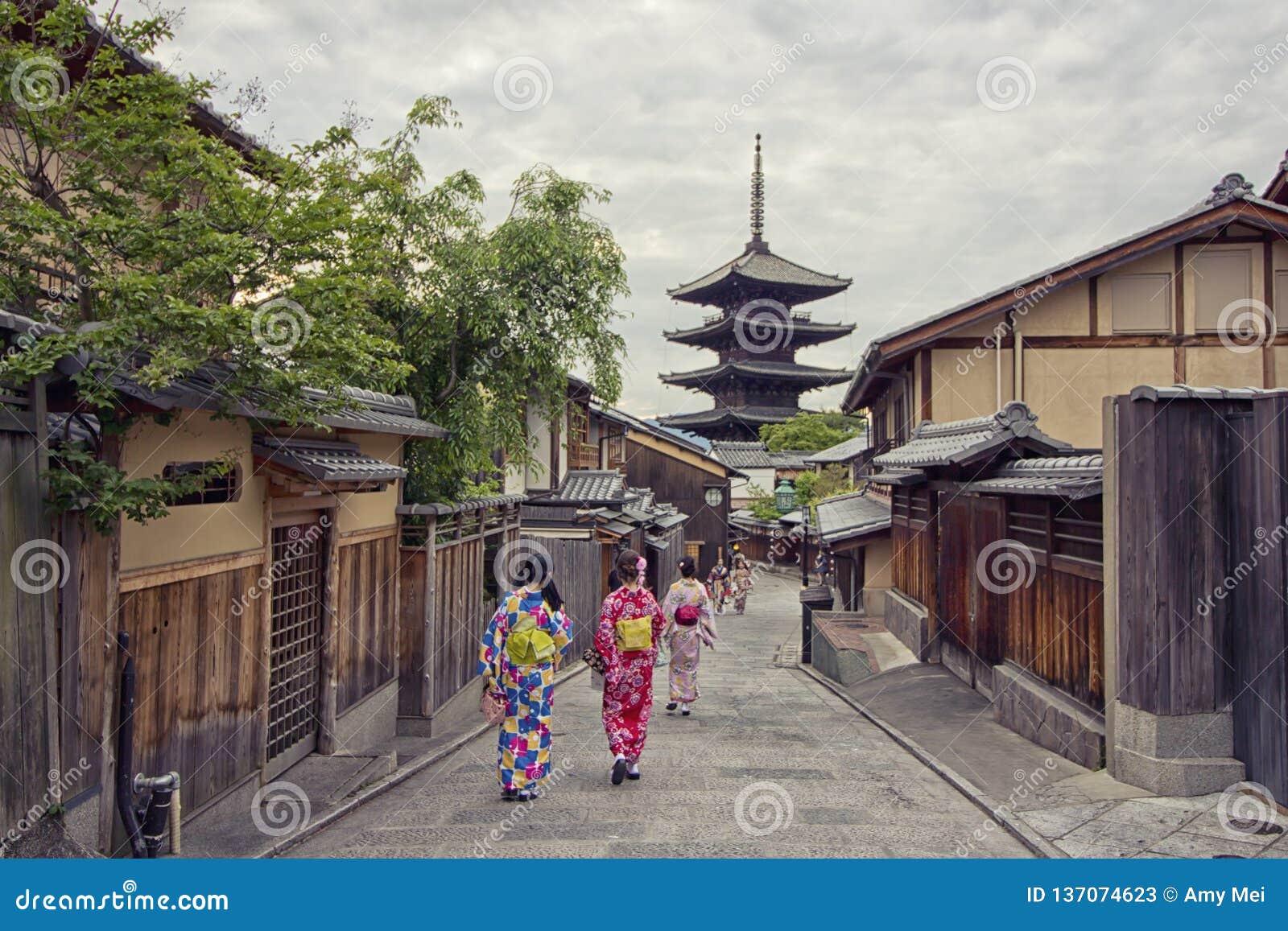 塔在Ninenzaka和Sannenzaka的京都