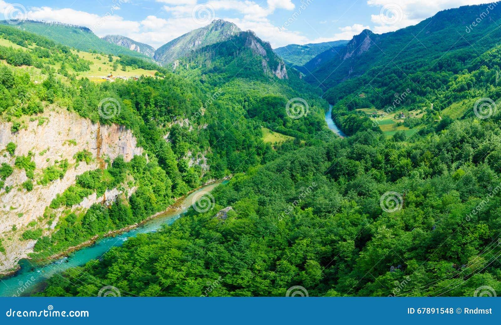 塔拉河和峡谷