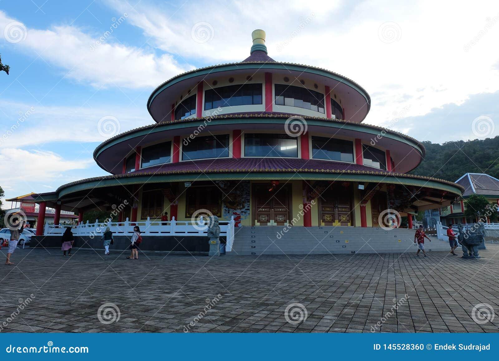 塔Vihara普里三阿贡,Sungailiat -邦加海峡勿里洞岛