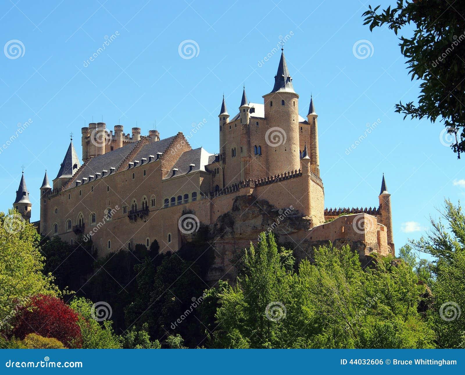 塞戈维亚城堡