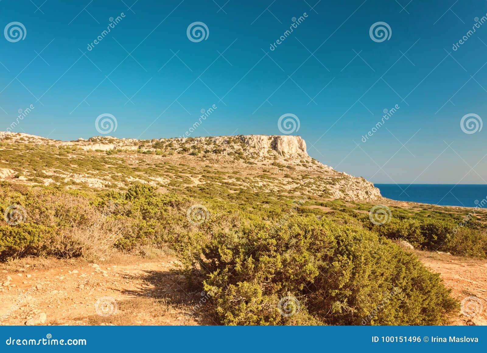 塞浦路斯Ayia Napa,海角格雷科半岛,全国森林公园