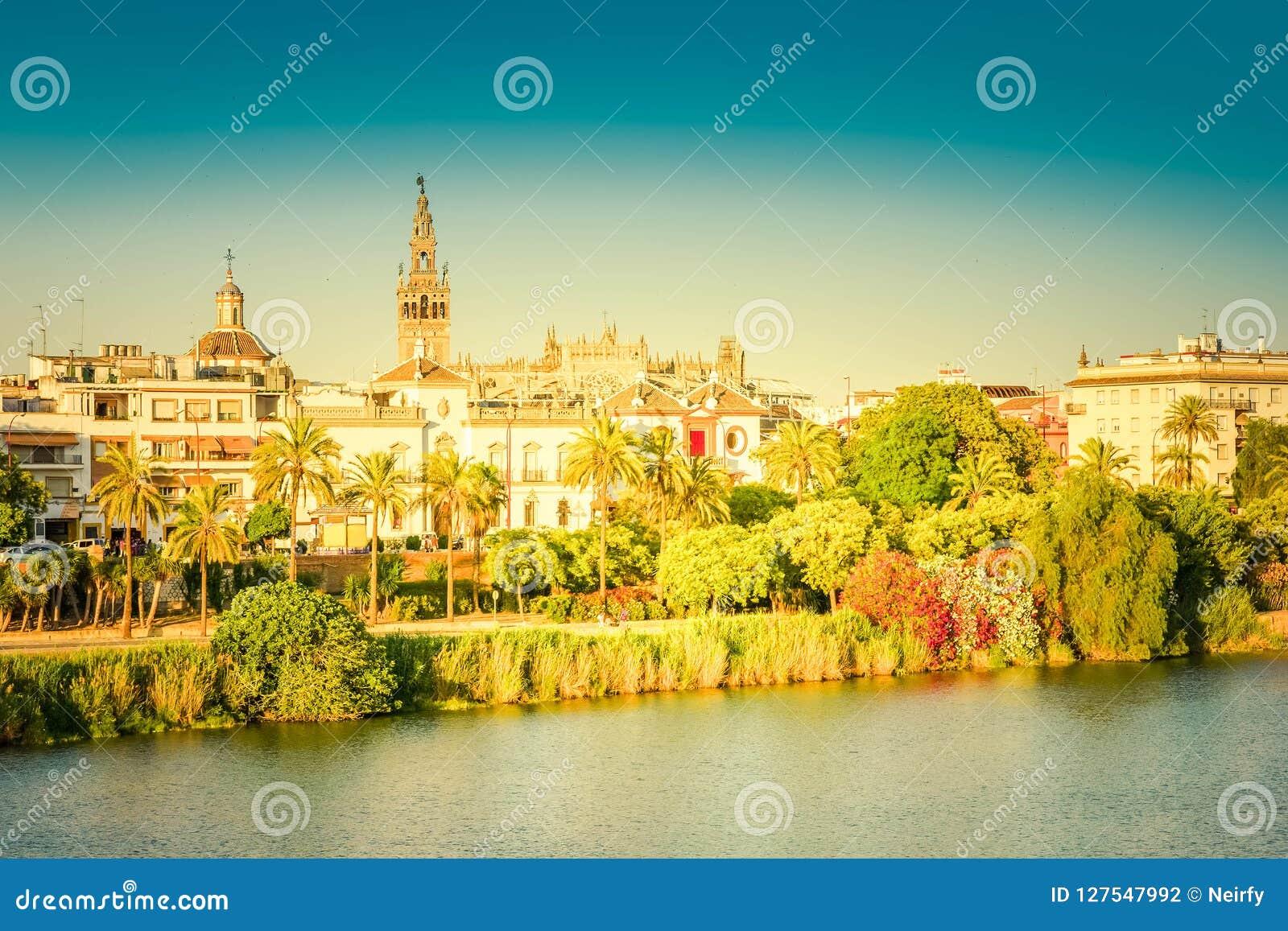 塞维利亚,西班牙都市风景