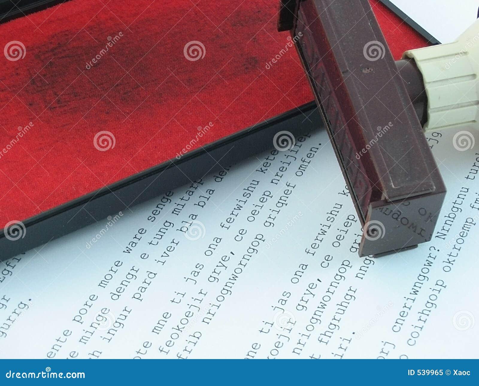 Download 填充印花税 库存图片. 图片 包括有 红色, 背包, 收货, 需要, 服务台, 每天, 重要, 办公室, 公证员 - 539965