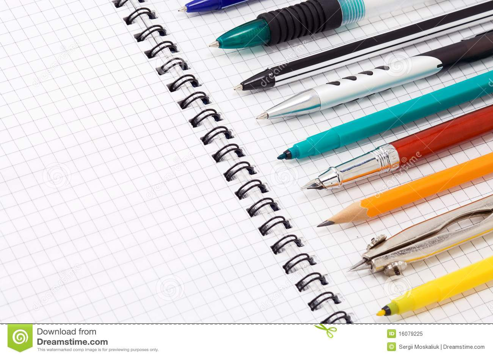 填充笔铅笔