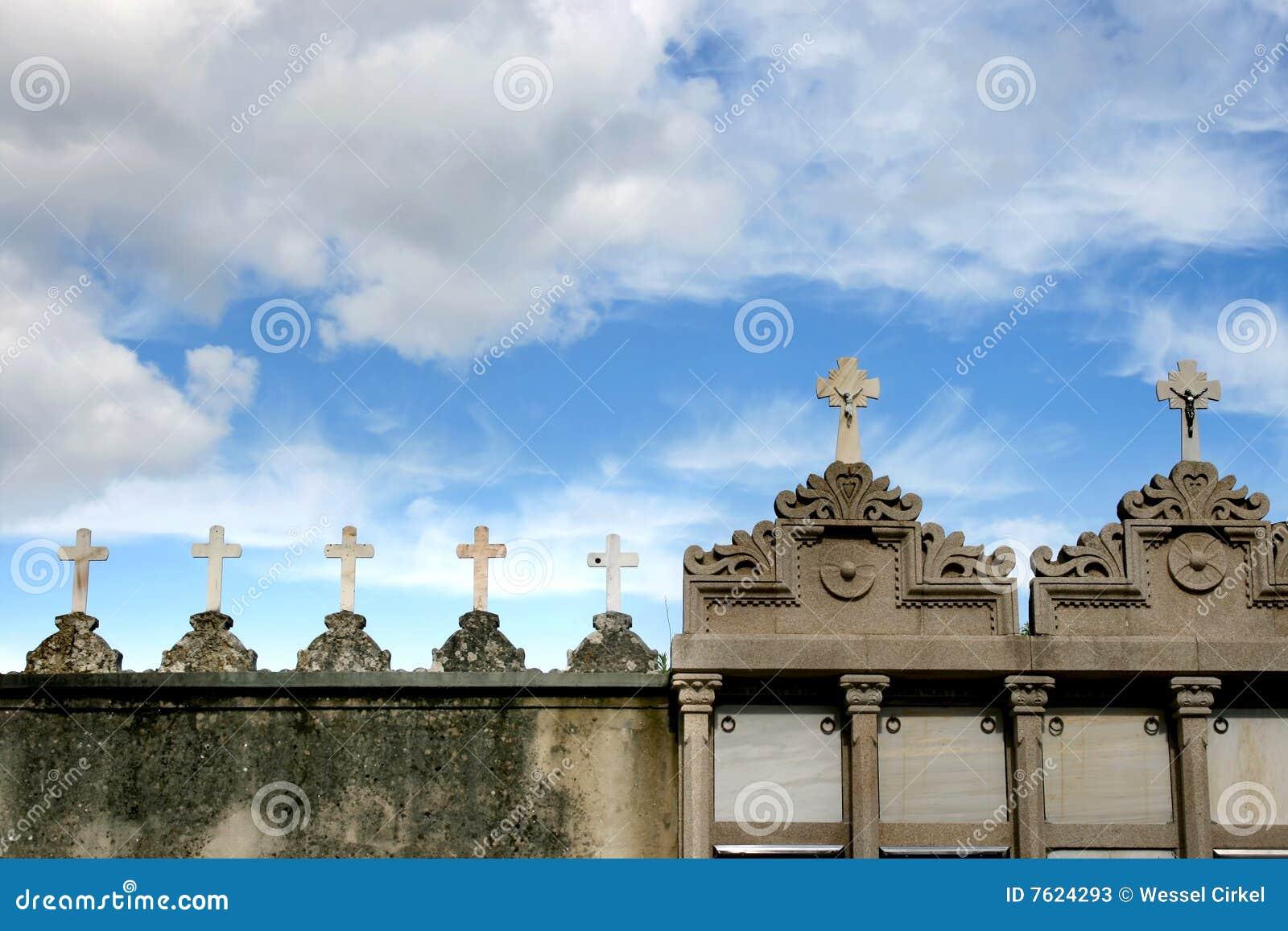 墓地克服西班牙坟茔