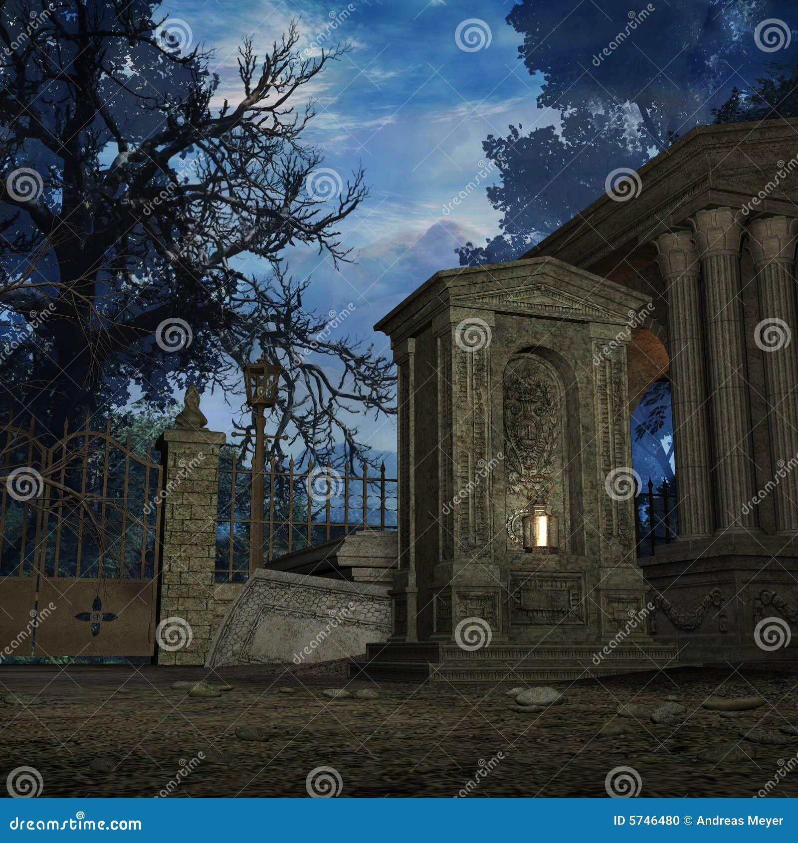 墓地神秘主义者
