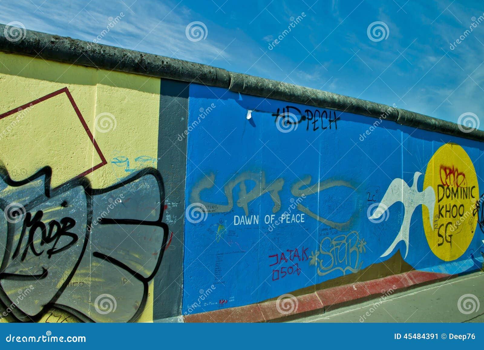 墙壁在柏林