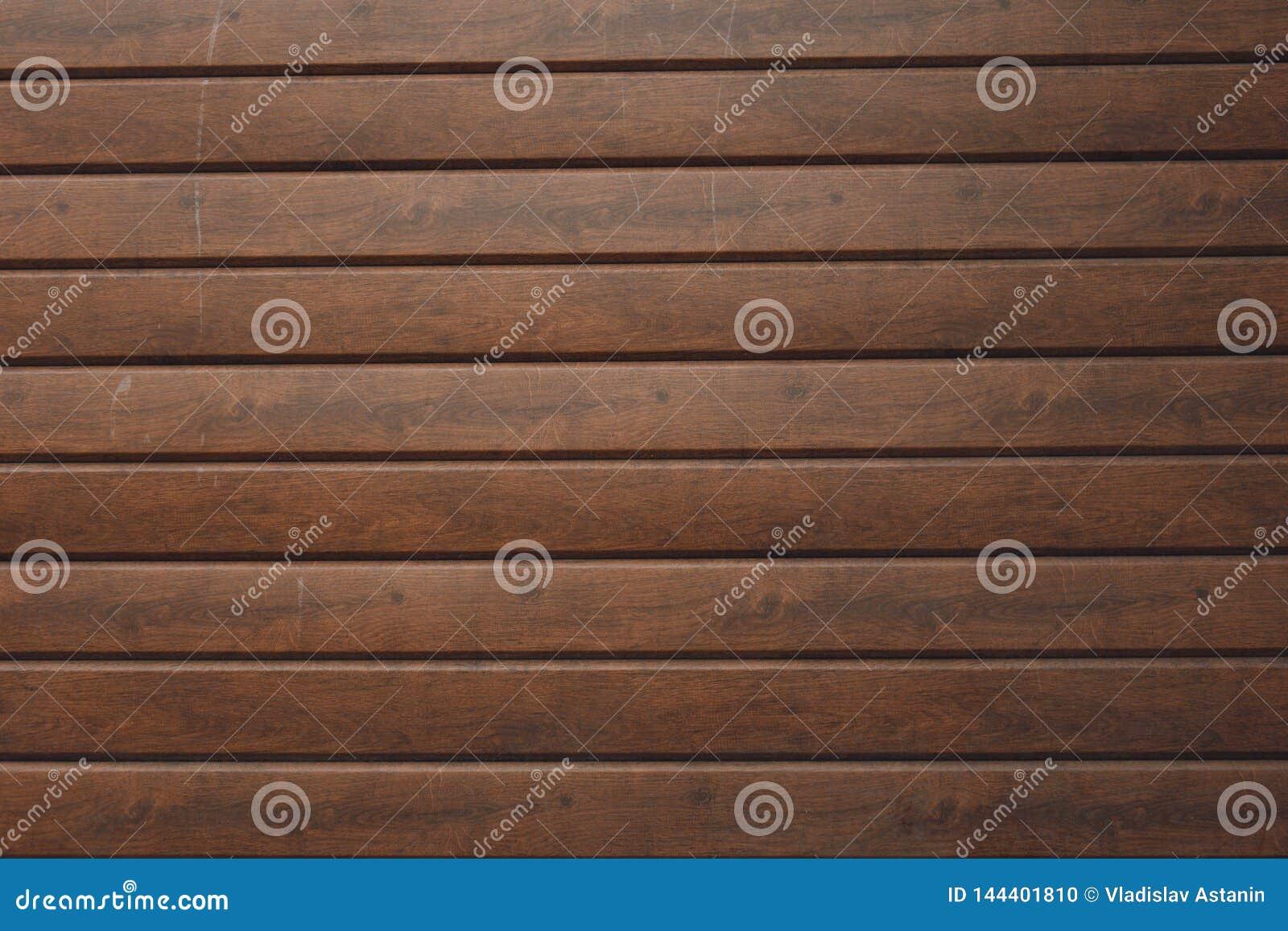 墙壁由木板条做成 木墙壁纹理