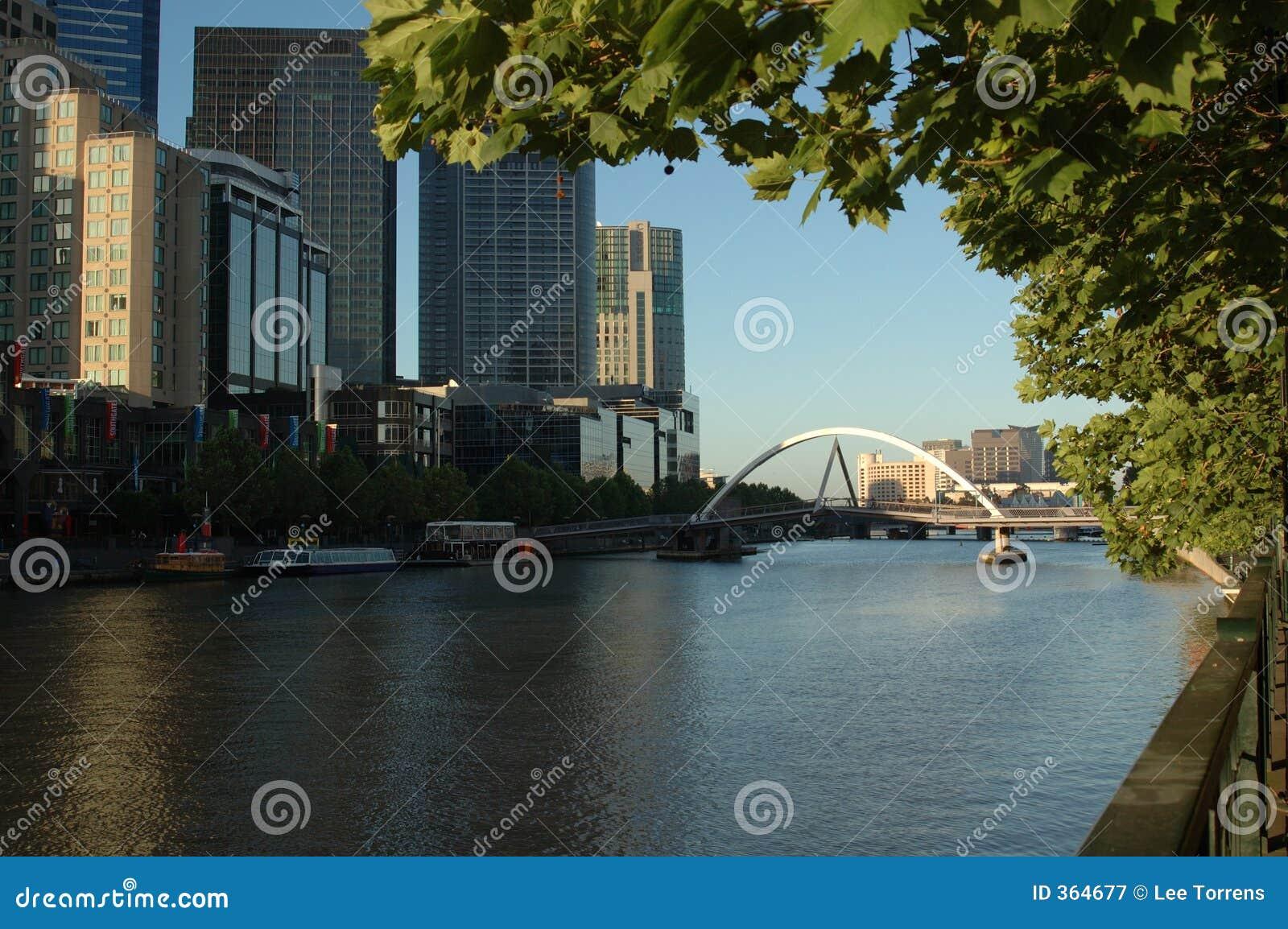 墨尔本河s southbank yarra