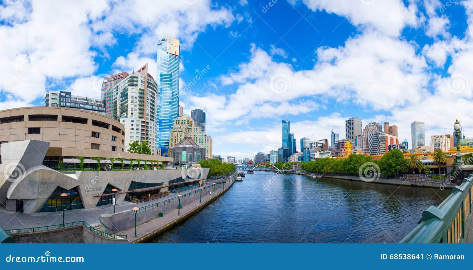 墨尔本都市风景