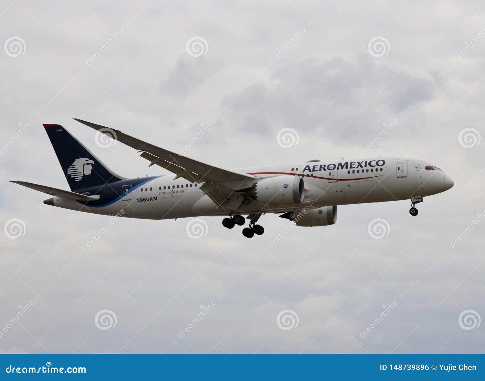 墨西哥国际航空飞机,波音787 dreamliner