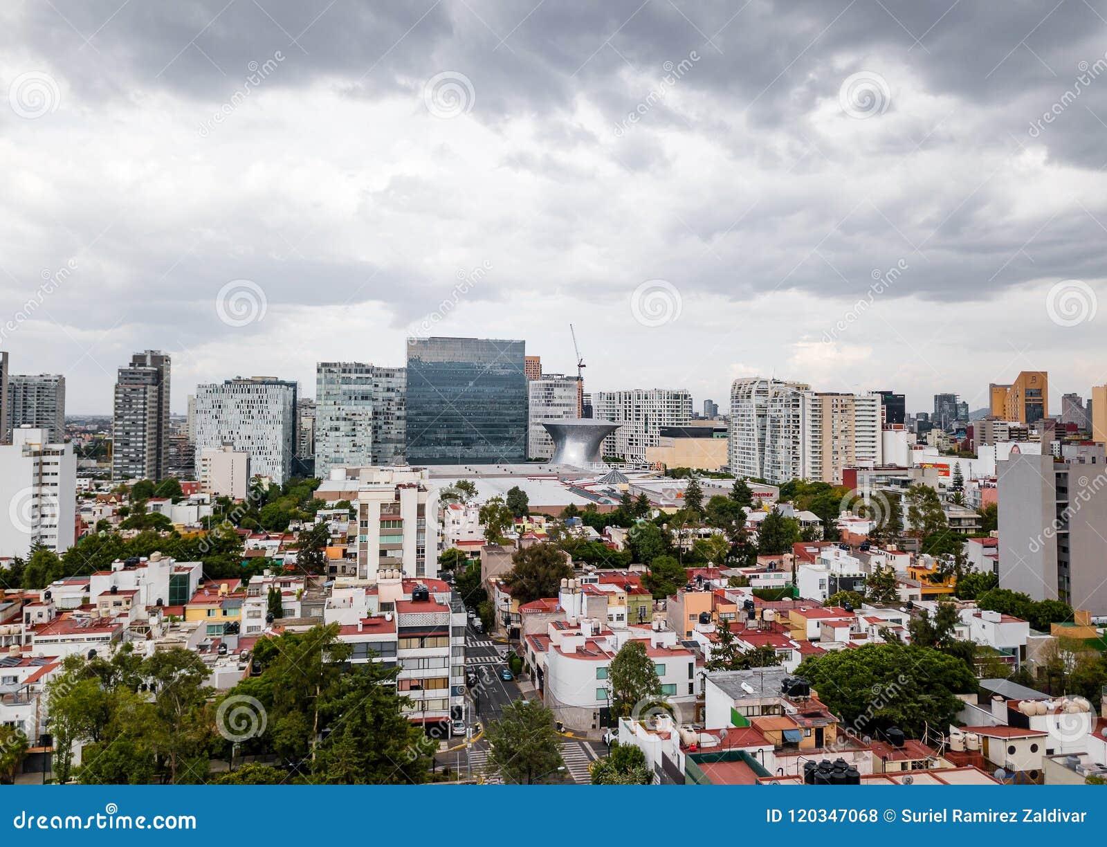墨西哥城全景-波朗科