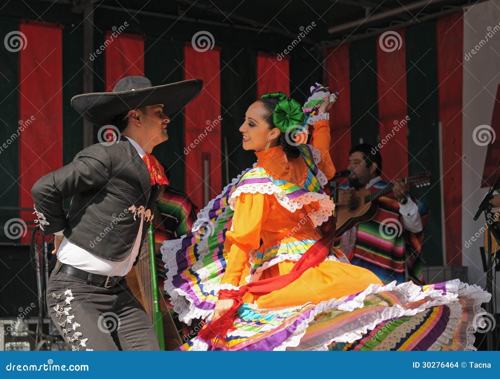 墨西哥民俗的芭蕾