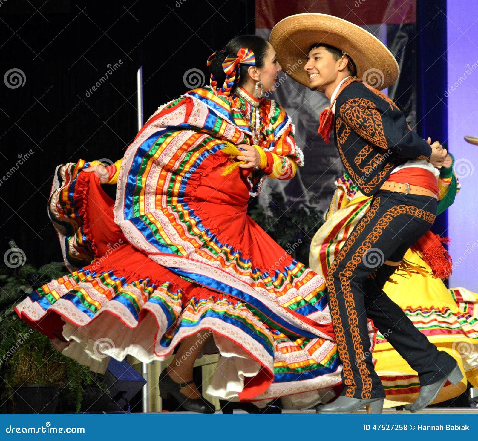 墨西哥的舞蹈演员