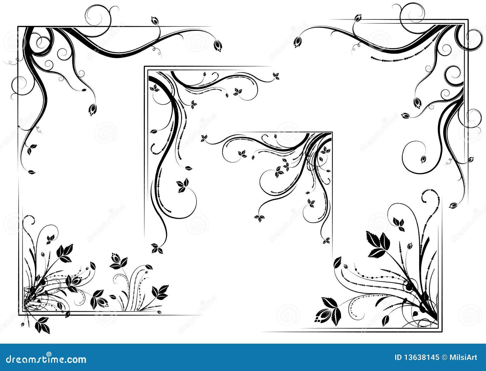 壁角花卉集