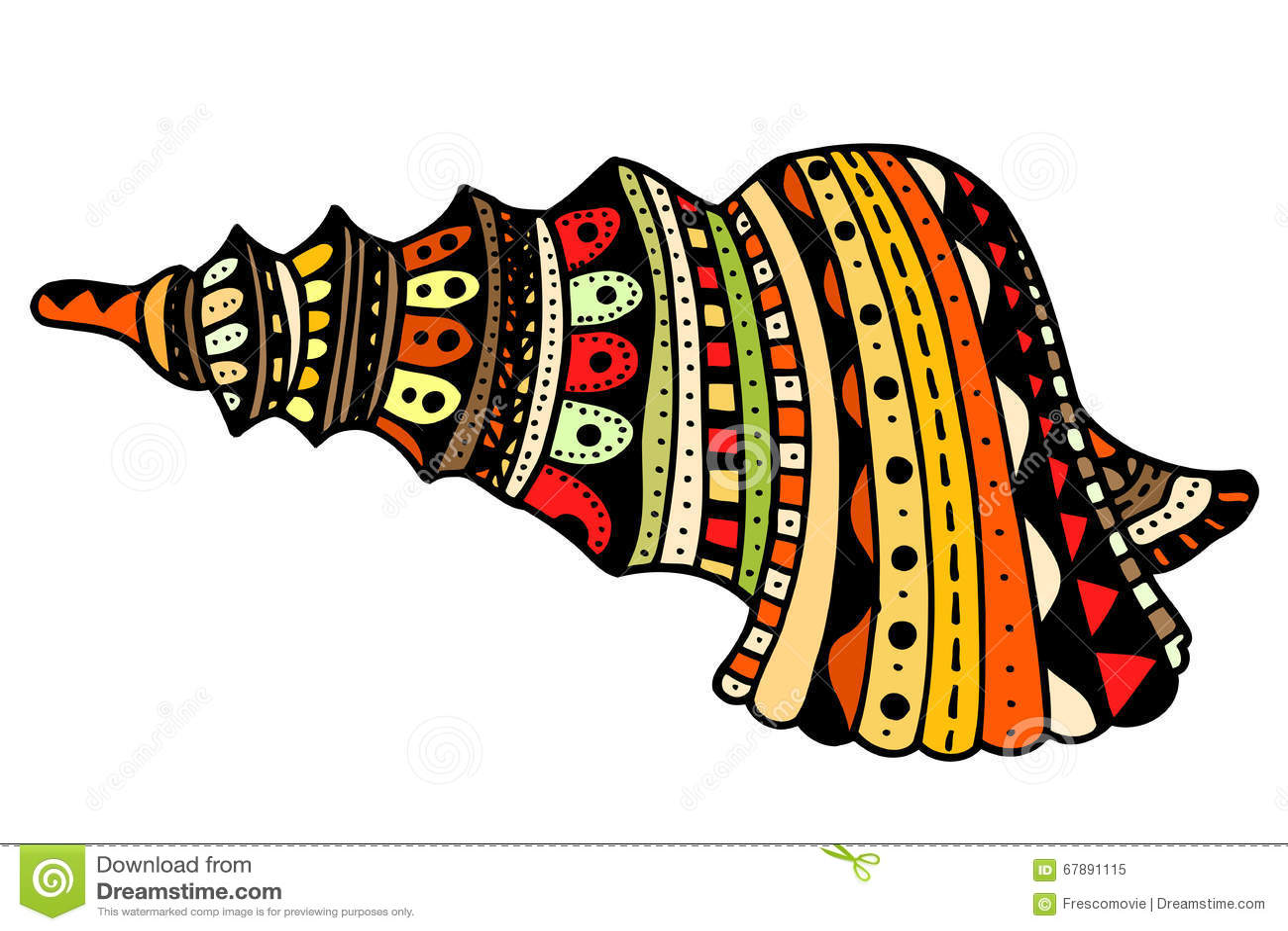 贝壳线艺术