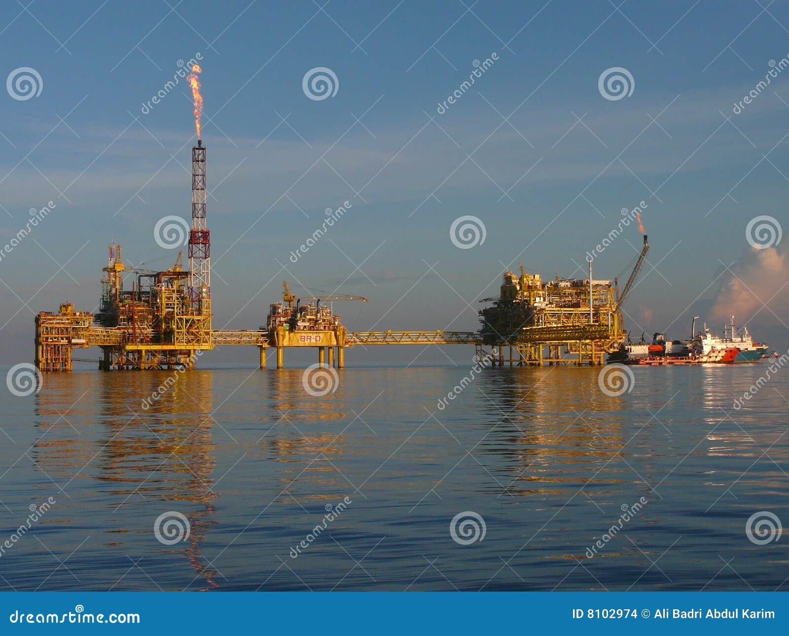 复杂气体近海油