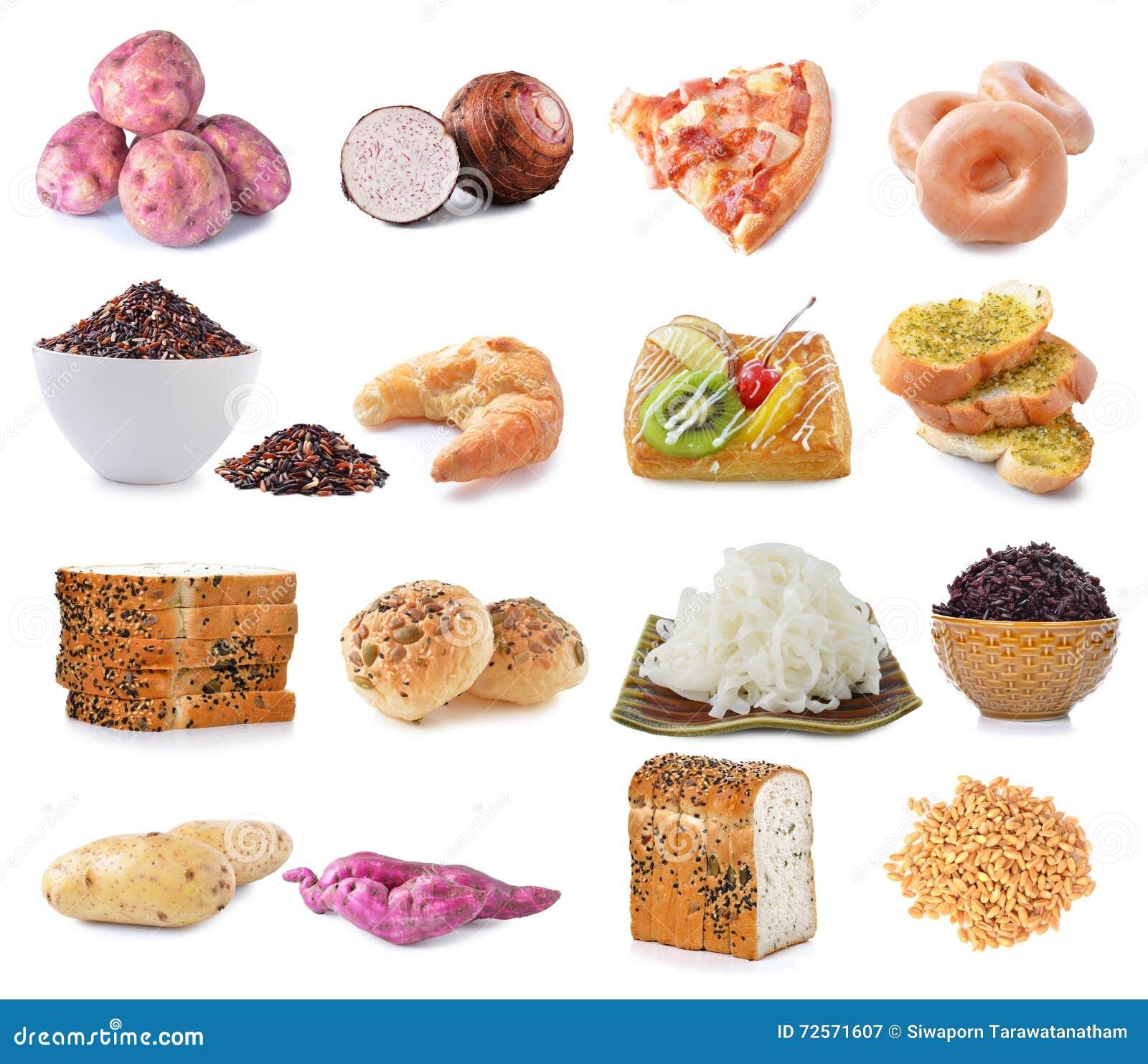 复杂碳水化合物的食物来源,查出在白色