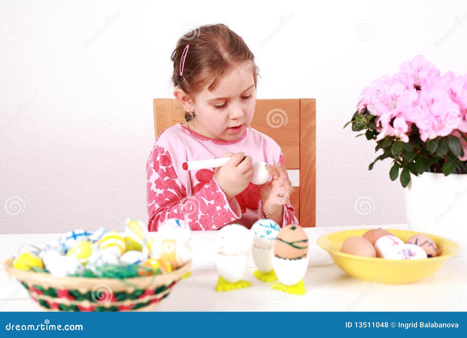 复活节彩蛋绘