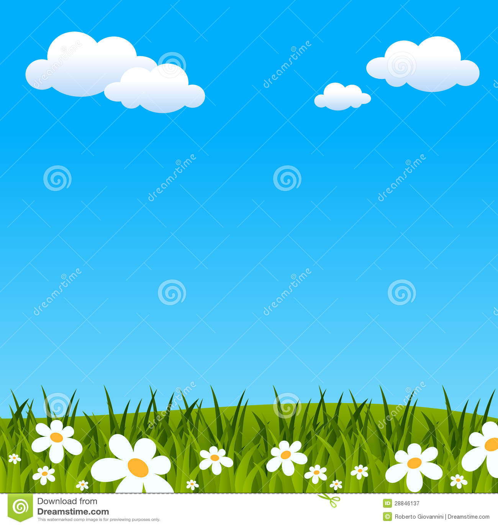 复活节或春天背景