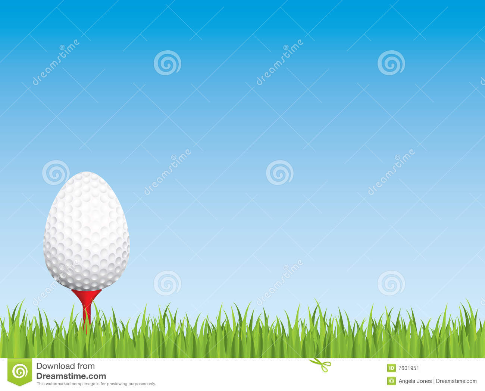 复活节高尔夫球