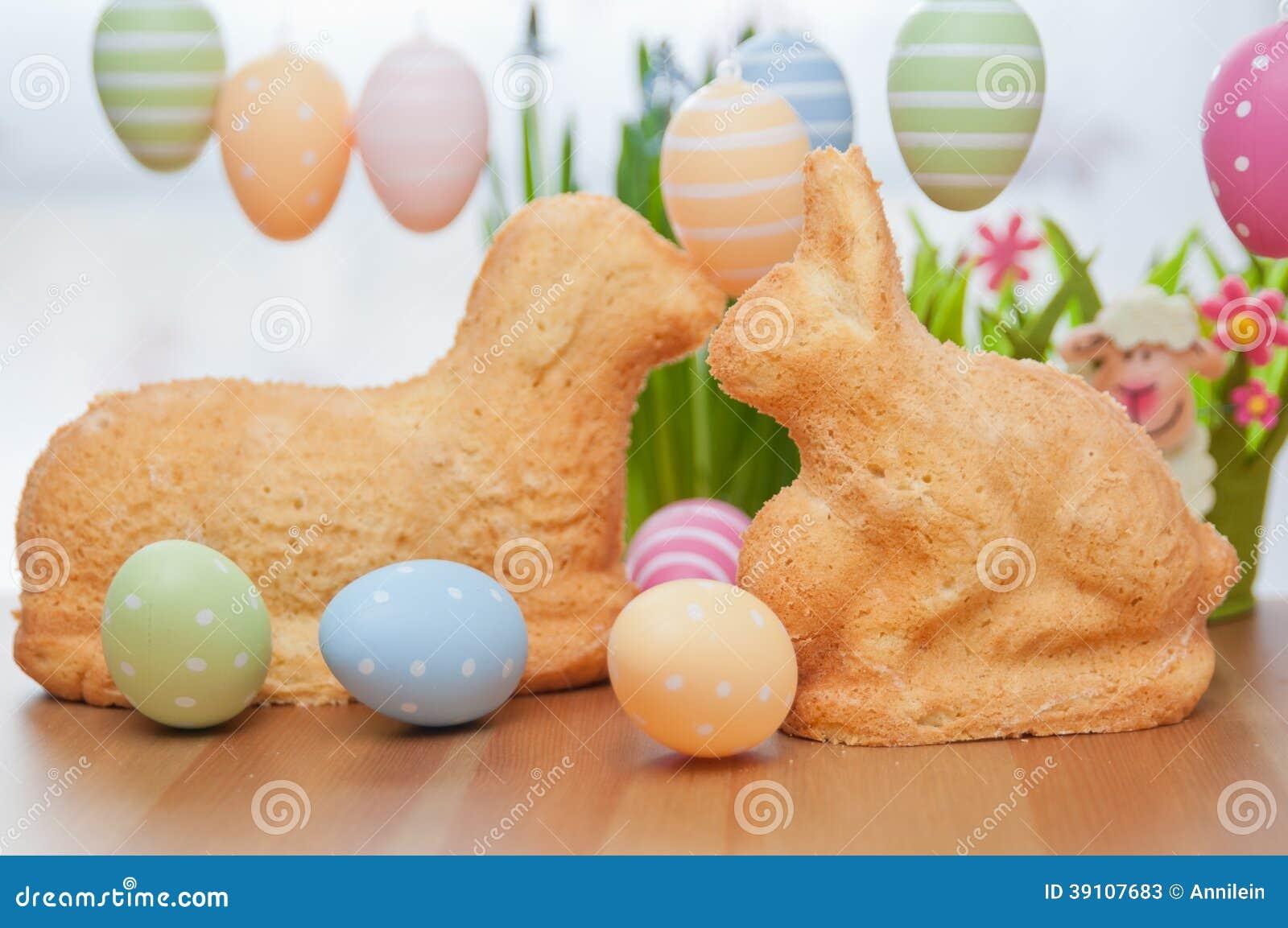 复活节兔子蛋糕