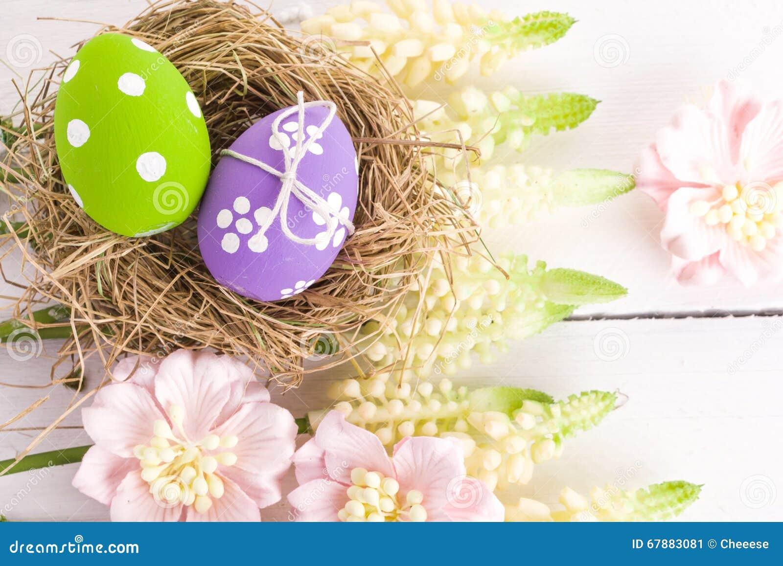复活节巢点心
