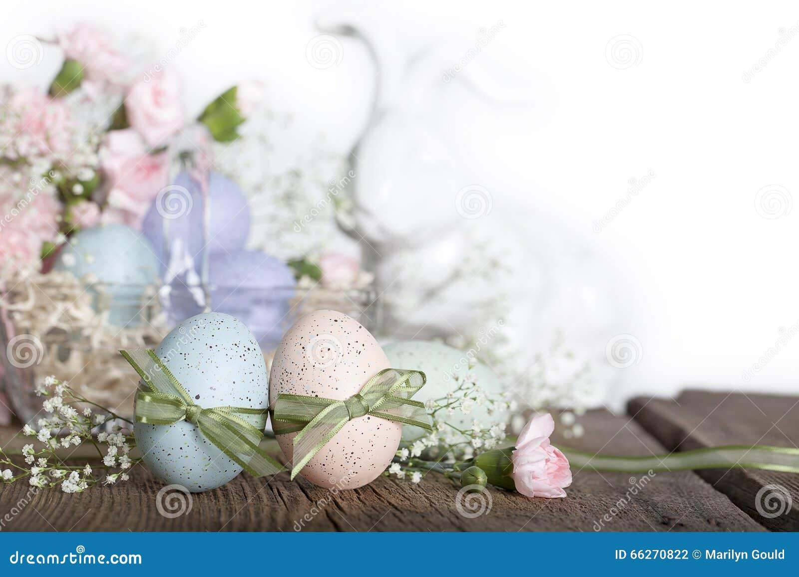 复活节彩蛋兔子