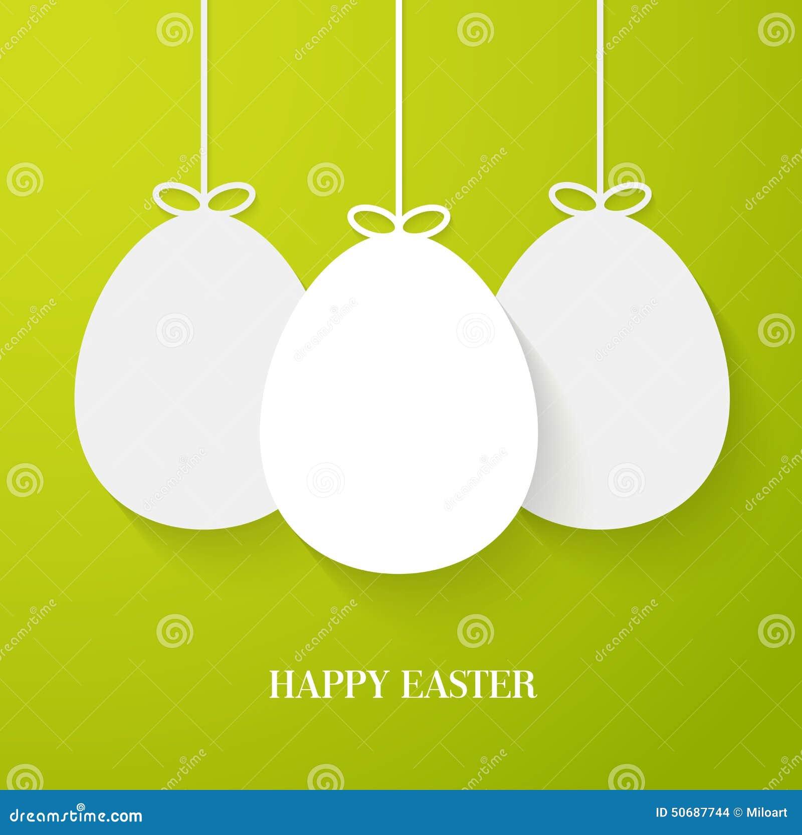 Download 复活节贺卡用垂悬的纸鸡蛋 向量例证. 插画 包括有 兵力分配决心, 图象, 鸡蛋, 抽象, beautifuler - 50687744