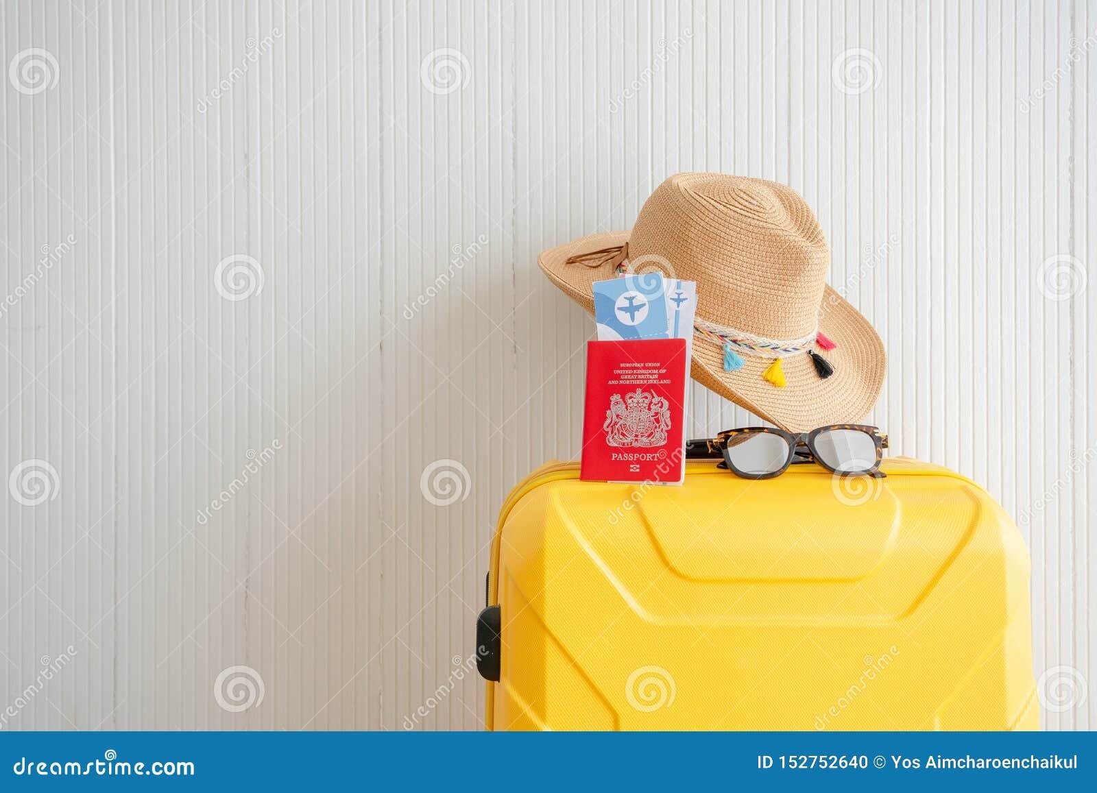 夏令时概念周末旅行准备