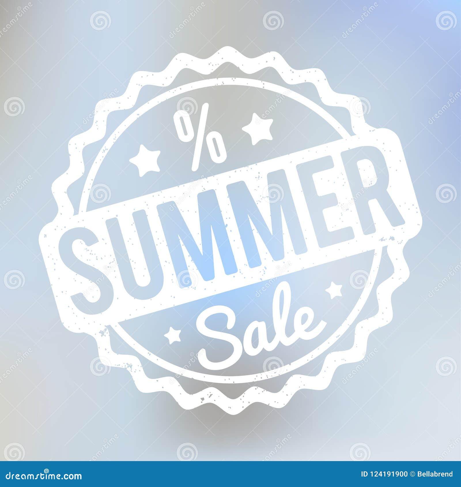 夏天销售在lila bokeh背景的不加考虑表赞同的人白色
